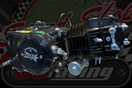 140cc. Engine 2 Valve. 14BHP. E-START 4 SPEED MANUAL