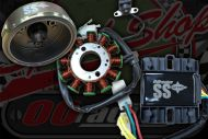 Gen kit conversion 3 phase 100W with ignition corrector for Z190 engine with large crank taper 18mm/21mm