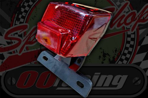 Rear light assembly C50 C70 C90 CUB with number plate mount