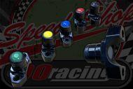 Kill or start switch CNC black bracket brake master cylinder clamp type