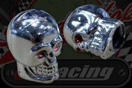 Dust cap. Chrome skull  Air Valve covers.