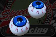 Dust cap. Eye ball  blood shot Air Valve covers