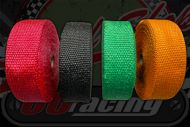 Exhaust wrap choice on colour 15 meter roll 50mm wide