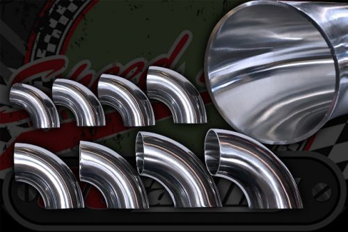 Stainless 304 exhaust/inlet pipe bends 90 degree Sizes OD from 25mm to 76mm