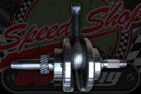 Crankshaft ACE 125 stock replacement with main bearing