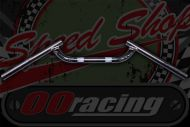 Handlebar. Bars. ACE style.  7/8th (22mm) diameter. Steel chrome plated