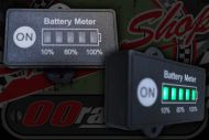 Battery. Meter.