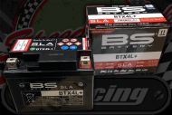 Battery 12V BTX4L+ 4.5Ah 50A(EN) Same as YTX4LBS TUV approved great for electric start