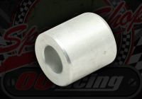 Spacer. 10mm I/D. 20mm O/D. For disc front end. Option of 20mm or 25mm length