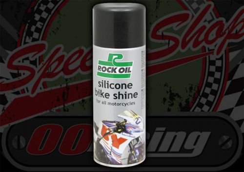 Silicon Bike Shine. Rock oil. 400ml. Spray can. Protector