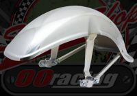 Mud guard (fender). Front. Chrome. Suitable for Chaly or Dax