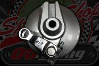 Front brake assembly with shoes, cam & short arm suitable for front drum monkey