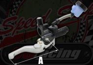 Master cylinder Front remote reservoir KRD short adjustable lever