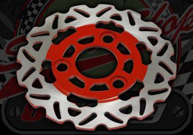 Disc. 155mm. Snow flake Suitable for use with Monkey, DAX or Pro Monkey