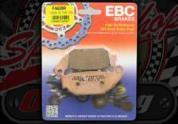 Brake pads REAR EBC HH Sintered pads suitable for Honda MSX Grom 125