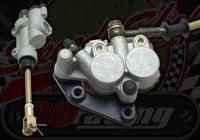 Rear brake kit pit bike twin pot