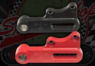 Brake. Mount. Caliper bracket. Rear. Hydraulic brake. Suitable for use with Madass 125cc & 50cc