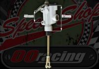 Master cylinder rear with integral resevoir 40mm mount M8 or 10mm banjo fitting