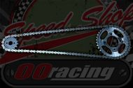 Chain & Sprocket kit Suitable for C50 C70 C90 range of gearing and chain's