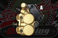 Caliper brake twin pot stock for ACE 50 & 125 model.