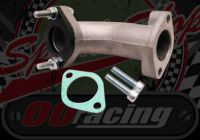 Manifold. 26mm. Straight back. 105mm TALL.  Choice for Gas flowed. Tall. Ideal for speedway bike