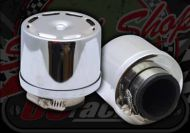 Air filter. 38mm. Steel cover. Enclosed