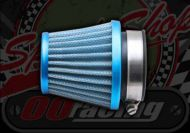 Air filter. 35mm Blue. Cone style