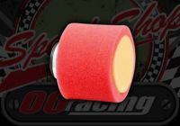 Air filter. 35mm. Red/Orange. 2 part foam