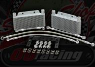 Cooler kit. Oil. Twin radiator for YX & Zongshen 150 160 170 engines