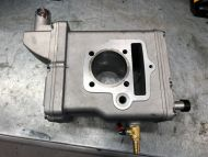 Cylinder  54mm unusual water jacket ideal for custom engine build