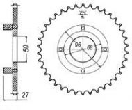 Sprocket. Rear. CUSH DRIVE TYPE. Sizes from 28T to 46T. 420 pitch. Suitable for DAX ST