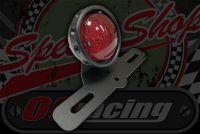 Rear light stop tail alloy bezel 12v LED