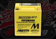 Battery. 12V. MBTX7U. Replaces CTX7L-BS. Premium battery. Suitable for use with Madass 125