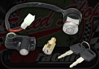 Lock set matching key. Suitable for DAX 12V