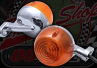 Flashers. Indicators. Bulb type. Classic style. Suitable for DAX or Monkey