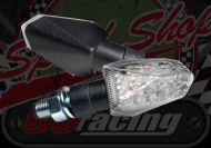 Flasher ice black 12v LED