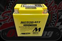 Battery. 12V. MotoBatt Quadflex. MB3U. Replaces. CB3L-A, CB3L-B