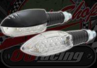 Flasher CNC Surf head with mini back light black 12v LED
