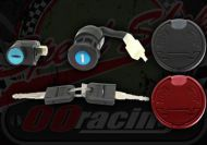 Lock set with fuel cap. Suitable for Madass 125 & late 50's