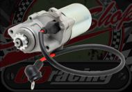 Starter motor. 12V. Suitable for Madass 125