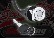 Ignition switch ACE 50 & 124 Custom chrome bezel