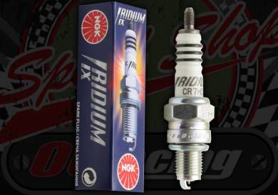 Spark plug. NGK. Iridium. Racing CR7HIX