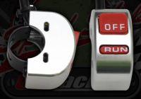 Kill Switch. Run/Off. CNC alloy