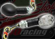 Flasher mini oval CLEAR OR AMBER Like OE madass style LED 12v