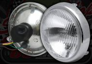 Head lamp lens and rim 5.5