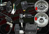 Loom Electrics kit D/C conversion with compact switch gear suitable for Monkey or Dax option