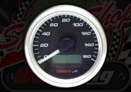Clock. Koso. Speedo. 160Km/h or 160Mph. Mini clock. 48mm Diameter
