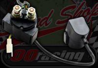Solenoid. Starter. 12V. Cover. 2 pin female plug