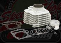 Big bore kit. 141cc. Cylinder kit. 57mm ceramic coated. Suitable for Madass 125