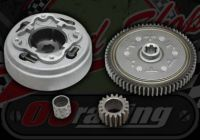 Clutch conversion kit. Single plate to 3 plate. Increase in final gearing by 10% for late monkey bike with manual clutch